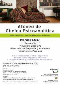 ateneo clinica psicoanalitica